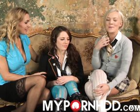 Faye Taylor Samantha Bentley and Tanya Tate Threesome