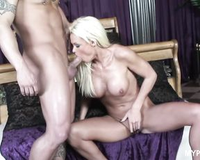 Hot fuck of beautiful blonde Rhylee Richards