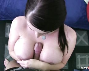 Redhead SOPHIE will make this cock cum with her big tits