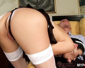 Maid NAOMI fucked her employer