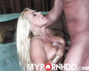 Rough sex and facial with hot MILF Holly Halston