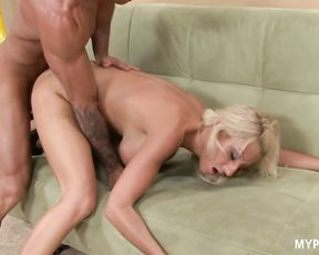 Blonde MILF Regan Anthony loves sex with hard cock