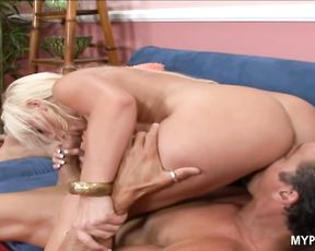 Beautiful babe Savannah Gold takes this hard cock deep in her wet pussy