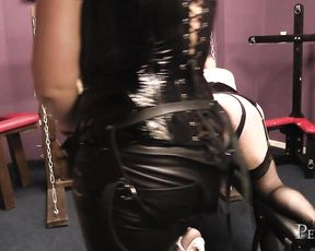 Domina Jemma's Sissy Fucked And Humiliated