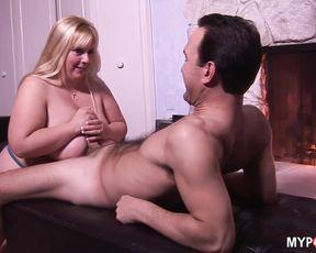 BBW CASSIE BLANCA makes tits fucking