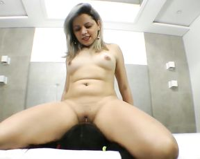 Merciless Smothering by Shaved Pussy