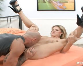 Depraved wife Roxanne Hall loves a lot of thick cum in her mouth