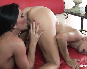 Sexy lesbians Kendra Secrets and Payton Leigh - Hot babes love wet tongues in their pussies
