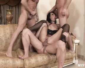 Suzie Diamond knows how to please men by her three sweet and wet holes