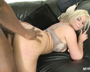 Slutty MILF Phoenix Marie loves hard black cock in her pussy and fingers in her tight ass